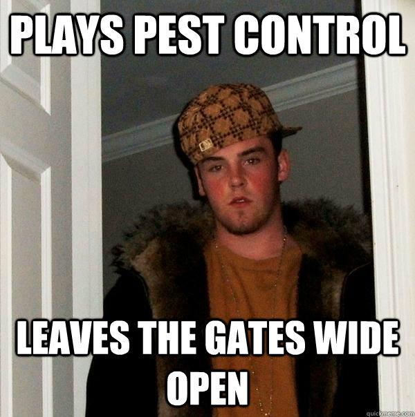 The #Dumbass That Left The Door Open